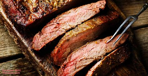 Easy Marinated Grilled Flank Steak and Japanese Sweet
