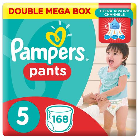 Pampers Pants Diapers, Size 5, Junior, 12-18 kg, Double