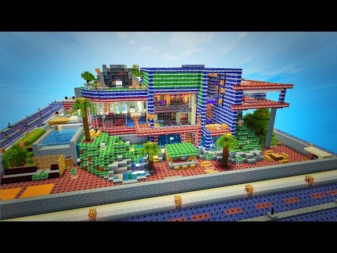 Minecraft TNT Wars Minigame w/ The Pack - YouTube