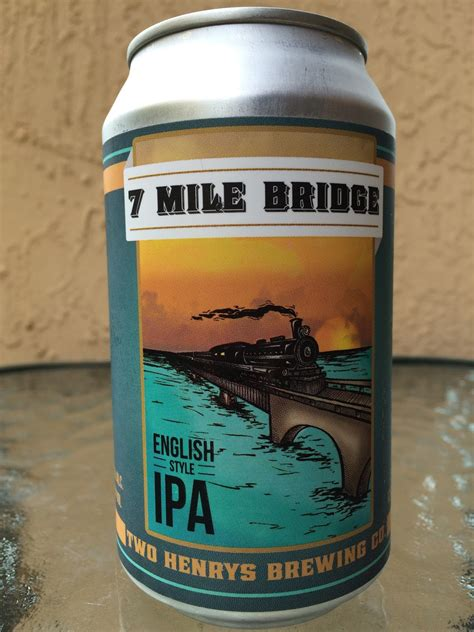 Daily Beer Review: 7 Mile Bridge English-style IPA