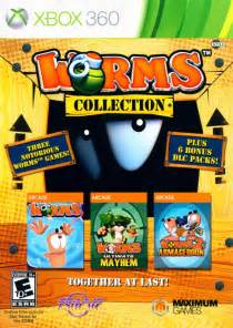 Worms Collection for Xbox 360 (2012) Ad Blurbs - MobyGames