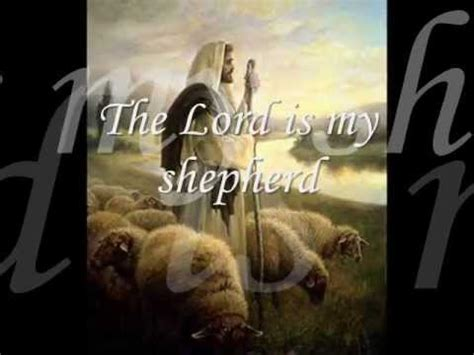 Psalm 23 (sound of young David from KING DAVID movie 1985