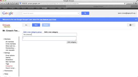 Using Google Groups to Create Web Forum at No Cost - YouTube