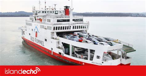 CANCELLATIONS FOR RED FUNNEL FERRY ON TUESDAY AND