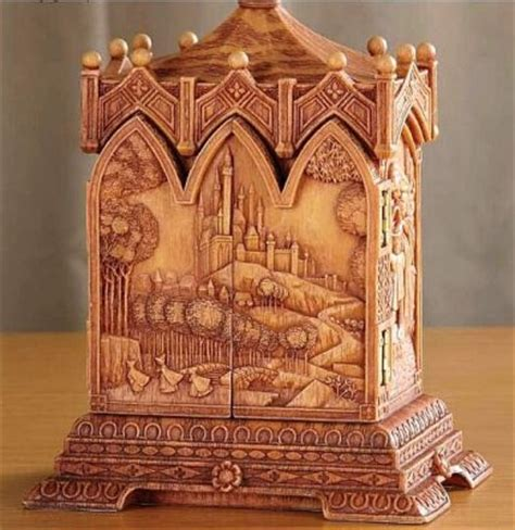 Sleeping Beauty heirloom box from our Olszewski collection