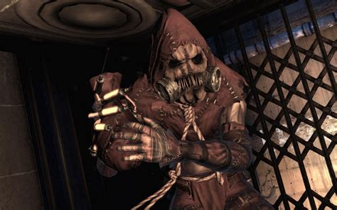 Scarecrow is obsessed with scare tactics in Batman: Arkham
