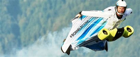 Here's BMW's All-Electric Wingsuit Taking Its Maiden