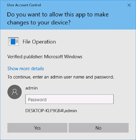 Windows 10 Anniversary Update revamps the UAC prompt