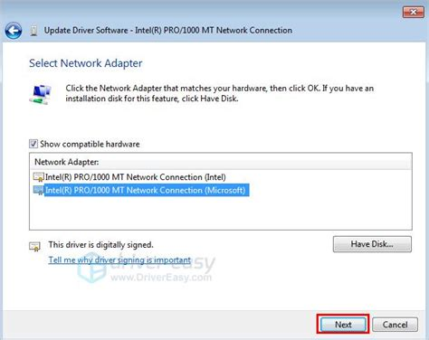 Manually Install Drivers in Windows 7 - Driver Easy