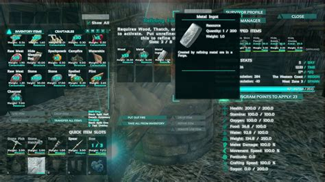 Ark: Survival Evolved - How to Get Processed Resources