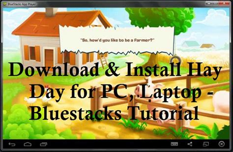 Download & Install Hay Day for PC, Laptop - Bluestacks