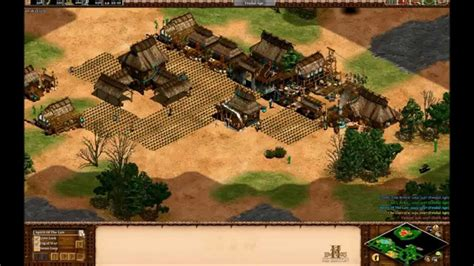 AoE 2: 3v2 Against a Top 20 HD Player - YouTube