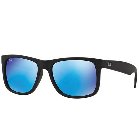 Ray-Ban Justin Color Mix Sunglasses Black Rubber RB4165 622/55