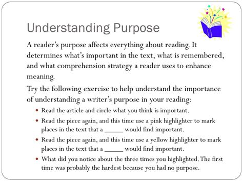 Understanding purpose and meaning