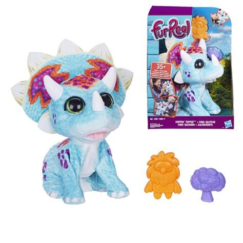 FurReal Hoppin' Topper Triceratops - Entertainment Earth