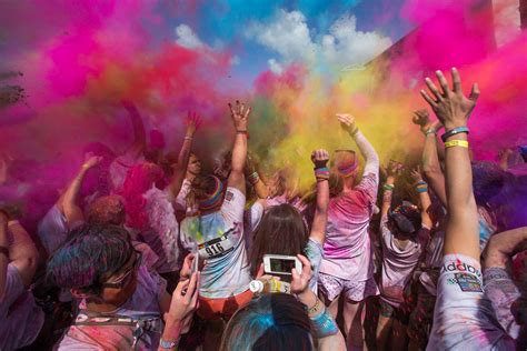 The Color Run 2019 in Melbourne - Dates & Map