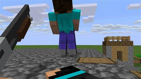 First Person Shooter (Minecraft Animation) - YouTube