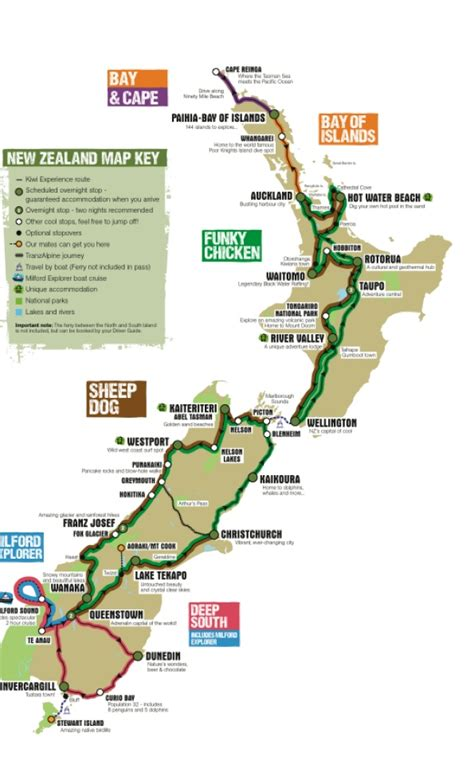 NZ Kiwi Experience Hop on Hop Off Bus Pass - Northern Round Up