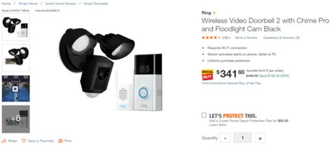 Today only: Ring Video Doorbell 2, Chime Pro, and