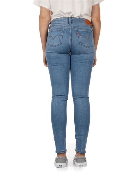Levis Ladies 711 Skinny Fit Jeans - Thirteen - Jeans and