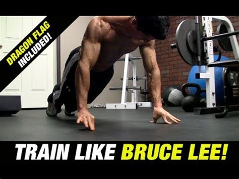 Bruce Lee Workout (INCLUDES DRAGON FLAG!) - YouTube