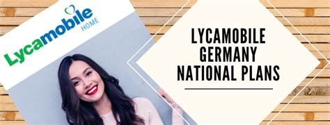 Lycamobile Germany National Plans: €3