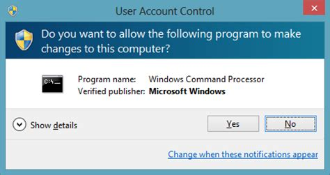 How to Turn Off UAC in Windows 8