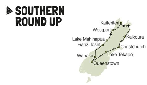 Kiwi Experience Bus Pass - Southern Round Up | RTW Backpackers