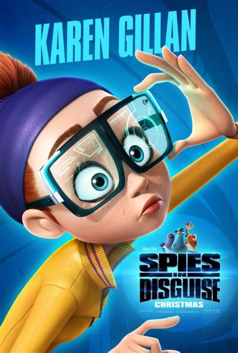 Spies in Disguise gets a new trailer and nine character
