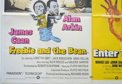 Freebie And The Bean / Enter The Dragon (Double Bill