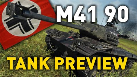 World of Tanks    leKpz M41 90 mm - Tank Preview