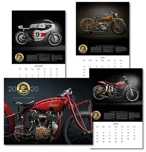 2020 AMA Motorcycle Hall of Fame Calendars Now Available