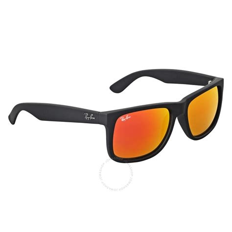 Ray-Ban Justin Color Mix Red Mirror Lens Sunglasses RB4165