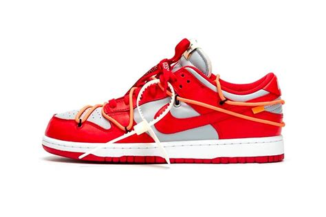 """Off-White x Nike Dunk Low """"University Red"""" - Praise your shoes"""