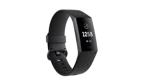 Fitbit Charge 3 with OLED display and heart rate sensor