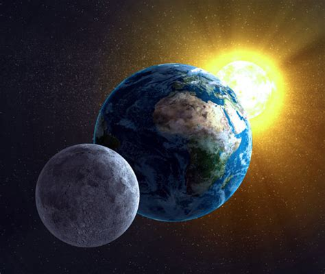 Moon formed as result of HUGE collision between Earth and