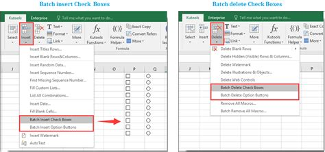 How to highlight cell or row with checkbox in Excel?