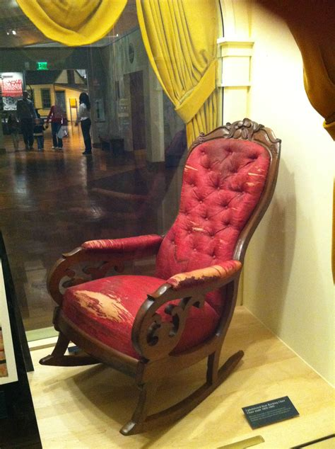 Lincoln's Red Rocking Chair