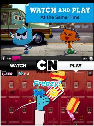 Cartoon Network App For iOS Updated With New Game And West