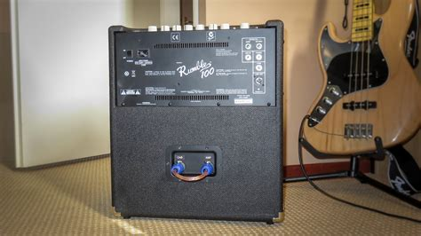DIY mod: convert a combo into a separate amp and cabinet