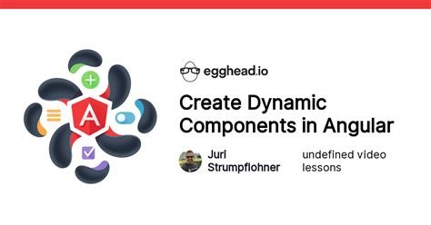 Create Dynamic Components in Angular from @juristr on