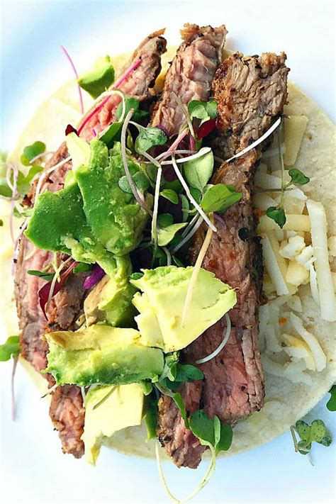 EASY Flank Steak Tacos Recipe - Reluctant Entertainer