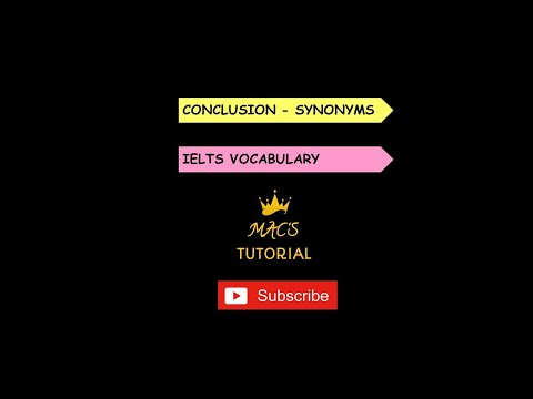 IN CONCLUSION Synonym: List of 30 Synonyms for In