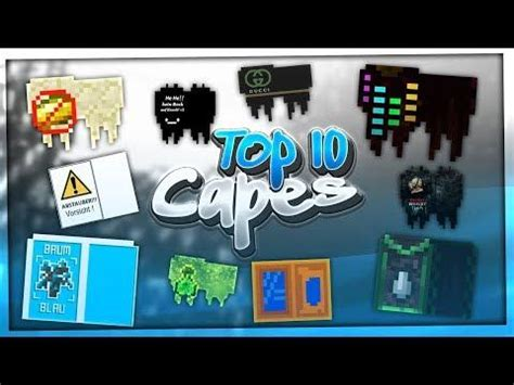 TOP 10 MINECRAFT CAPES • TOP DESIGN Of The Week #22 | BaumBlau