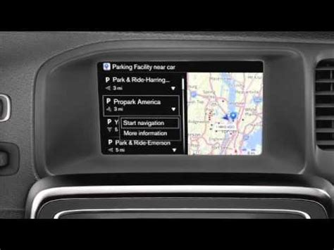 Volvo Sensus Connect Navigation - Use Local Search - YouTube