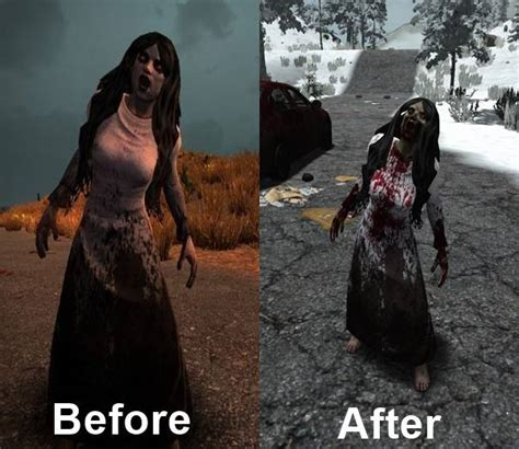 New Zombie Textures   7 Days to Die Mods