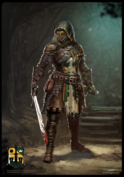 For Honor Concept Art by Remko Troost | Concept Art World