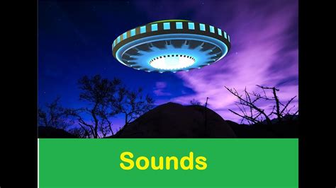 UFO Sound Effects All Sounds - YouTube