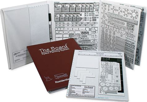 The Board Space Planning Systems - Magnetic Room Planners