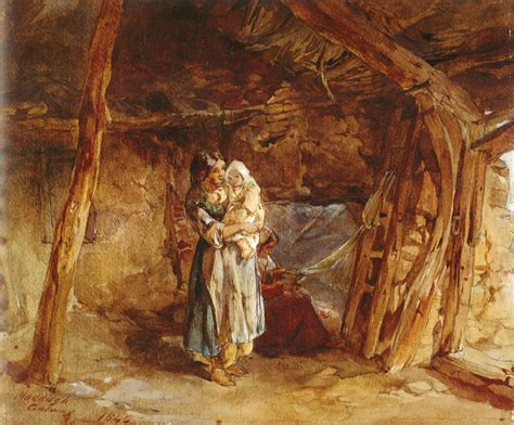 Irish Potato Famine - The Great Hunger - FROM COTTAGES to
